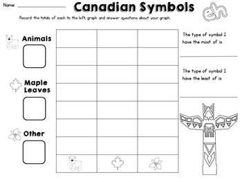 Canadian Symbols Write the Room