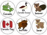 Canadian Symbols Write the Room