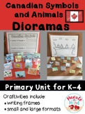 Canadian Symbols and Animals Dioramas K-4