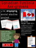 Canadian Symbols and Artifacts Presentation- Alberta Grade