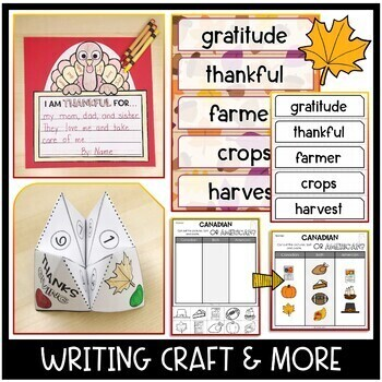 Canadian Thanksgiving: Non-Fiction and Craft