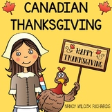 Canadian Thanksgiving Math, Reading and Writing Activities