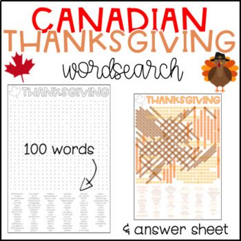 picture relating to Thanksgiving Word Search Printable Free named Canadian Thanksgiving Wordsearch