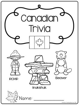 Canadian Trivia Game