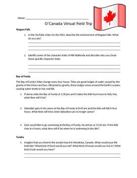Canadian Virtual Fieldtrip