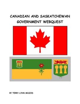 Canadian and Saskatchewan Government Webquest