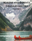 Canadian history, reading assignments volume 1, Social stu