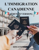 Canadian immigration in French, French version (a1)