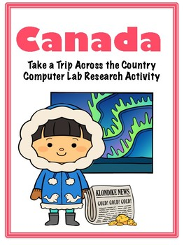 Canadian provinces computer workbook