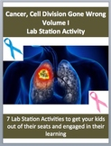 Cancer: Cell Division Gone Wrong Volume I - 7 Engaging Lab Station Activities