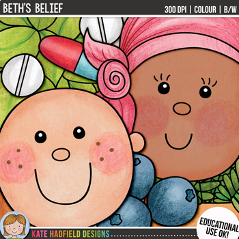 "Cancer Clip Art: ""Beth's Belief"""