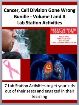 Cancer Lab Station Bundle: Volumes I and II - 2 X 7 Engagi