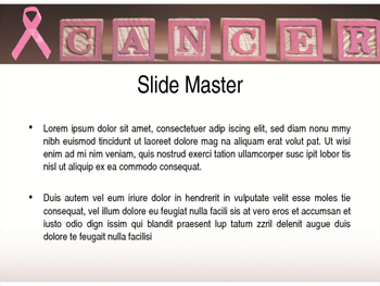 Cancer PPT Template