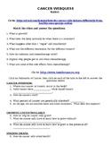 Cancer WebQuest