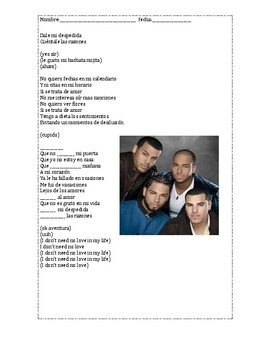 Cancion Commands