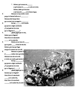 Canción: El balsero de Amaury Gutierrez