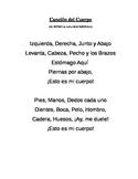 Cancion de Cuerpo / Song about the Body