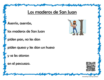 Canciones Infantiles con Codigos QR - Children's Songs with QR Codes