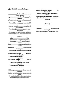 Canciones con letra / Song lyrics - Multiple