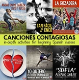Canciones contagiosas 1 - Songs for Spanish classes