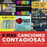 Canciones contagiosas 2 - Songs for Spanish classes