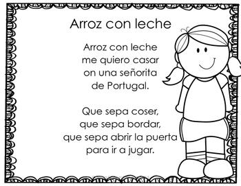 Canciones, juegos y rondas infantiles en español