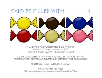 Candies Filled with K Sounds!