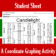 Christmas - Candlelight - A Coordinate Graphing Activity
