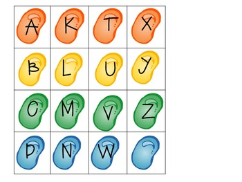 Candly Letter Mats- Matching Upper and Lower Case Letters