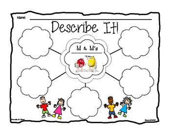 Candy Activity Graphic Organizers
