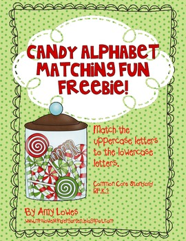 Candy Alphabet Matching Fun