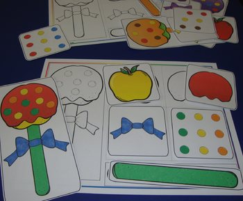 Candy Apple Centers Math Literacy Sequencing Autumn Activities