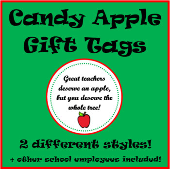 Apple Gift Tags Worksheets Teaching Resources Tpt
