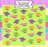 Candy Attendance for SMARTBoard Animated