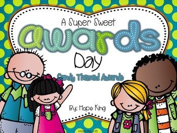 Candy Awards: 20 Super Sweet Awards & Poems for End of Year {Customizable}