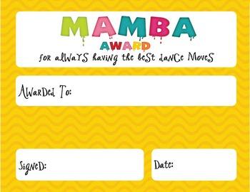 Candy Awards (35 Awards & A Cheat Sheet)