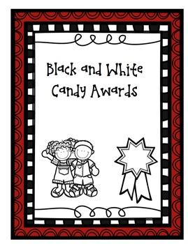 Candy Awards (Black & White)
