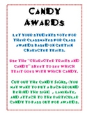 Candy Awards for the End of the Year
