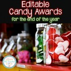 EDITABLE Candy Awards - now 35 options!