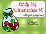 Candy Bag 1-5 Multiplication