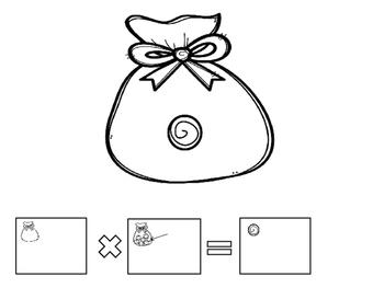Candy Bag 1-5 Multiplication