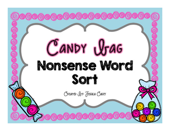 Candy Bag Nonsense Word Sort