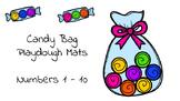 Candy Bag Playdough mat