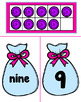 Candy Bag Ten Frame Number Match to 10