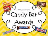 Candy Bar Award Certificates