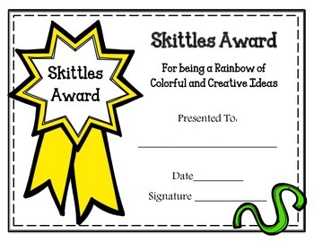 EDITABLE Candy Bar Awards Certificates. End of the Year. Black & White or Color