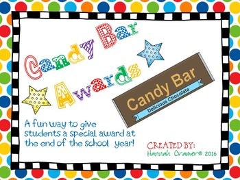 Candy Bar Awards ( Delicious Class Superlatives)