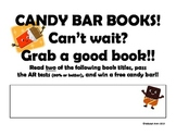 Candy Bar Books - Reading Incentive for Reluctant Readers