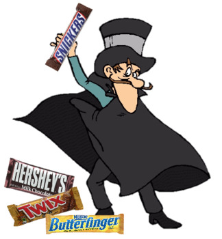 Candy Bar Caper Break Out