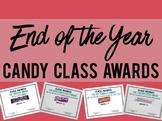 Candy Bar Class Awards